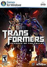 Transformers: Revenge of the Fallen - PC, Good Windows XP, Windows Vista, Pc Vid