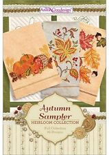 Anita Goodesign Autumn sampler Embroidery Machine Design CD NEW 128AGHD