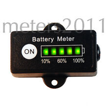 Battery Gauge, Charge Indicator, 24 Volt Rect - provides remaining charge