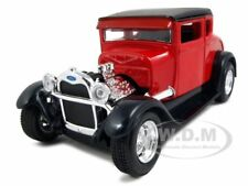 1929 FORD MODEL A RED 1:24 DIECAST MODEL CAR BY MAISTO 31201