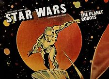 STAR WARS  disco LP 33 giri THE PLANET ROBOTS Guerre stellari 1977 MADE in ITALY