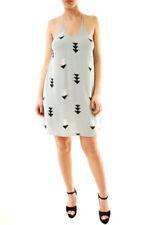 Wildfox Ladies Arrow Open Back Mini Dress Mint S RRP $125 BCF612