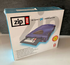 IOMEGA ZIP 250MB PC Drive New Sealed Vintage Stock Parallel Port Boxed