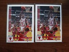Michael Jordan - Lot of 2 - 1992-93 NBA Hoops #30 - HOF - Awesome Condition 👌
