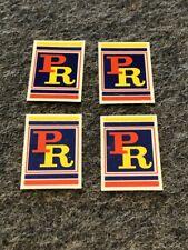 Patterson BMX screen printed repro sticker set #7 - 4 stickers!