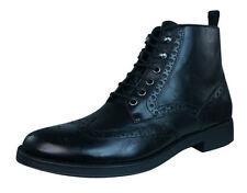 Stivali, anfibi e scarponcini da uomo Geox nere con stringhe
