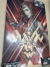 Wonder Woman Variant Screen Print Poster #185/275 by Martin Ansin Mondo artist
