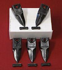 6737325T 5 Pack Tiger Bucket Teeth Bobcat Style & 5-6737326 FlexPins