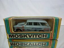 MADE IN CCCP USSR - MOSKVITCH 427 - RALLY SERVICE 1:43 - GOOD CONDITION IN BOX