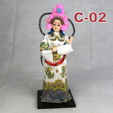C-02 China Peking Oper chinesisch Puppe Figur Seide 31 cm Neu Geschenkidee OVP