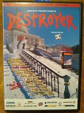 DESTROYER Kingpin THE REVIVAL DVD Snowboarding DC Shoes Extreme Sports RARE OOP