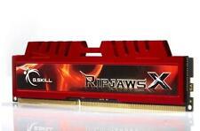 8 GB g. Skill DDR3 PC3-10666 RipjawsX per kit Sandy Bridge 9-9-9-24 Dual Channel