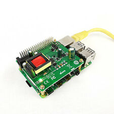 5V 12V PoE HAT Raspberry Pi 4 4B 3B+ 3B Plus 3.5in Hard Disk Drive LED 26Watt