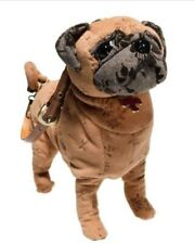 Brown Pug Purse - FuzzyNation Novelty Bag for dog lovers