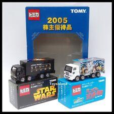 Tomica 2005 Shareholder special offer Pokemon & Star Wars TRUCK SET TOMY NEW