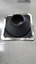 "#8 MASTERFLASH SQUARE PIPE BOOT: Black EPDM (For Pipe 6-3/4"" - 13-1/2"")"