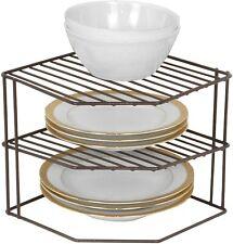 TOP 3-Tier Kitchen Corner Shelf Rack - Metal Kitchen Organization (9 x 8 Inch)