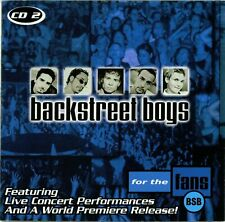 Backstreet Boys For The Fans CD 2 Free Shipping In Canada