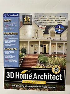 3D Home Architect Deluxe 5.0 PC Build Plan Remodel Home Interior Room
