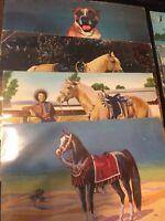 Vintage Jumbo Postcards- Lot Of 8