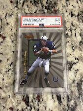 New listing 1998 Bowman's Best Peyton Manning RC #112 PSA 9 MINT HOF