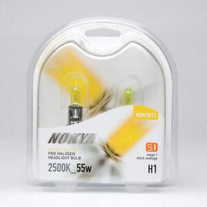 Nokya H1 Hyper Yellow S1 Headlight Fog Light Halogen Light Bulb 1 Pair NOK7617