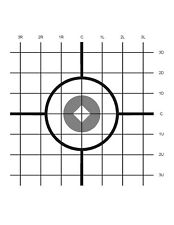 Scope Sighting Targets 04- Pistol, Rifle, Archery, Air Rifle, Pellet  40 Targets
