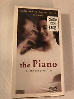 NEW, THE PIANO, HOLLY HUNTER, SAM NEILL, VHS