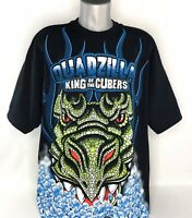 Quadzilla King Of The Cubers Mens XXL Manitowoc T-Shirt