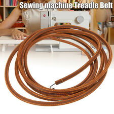 68''/173cm Softer Leather Treadle Dia Belt For Singer Sewing Machine With Hook