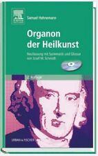 ORGANON DER HEILKUNST, Samuel Hahnemann, 2. Auflage, mit CD-ROM, NEU/OVP