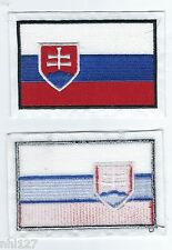 SLOVAKIA Country Logo Licensed Sew On Jersey Patch NHL All Star Game