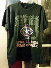 VINTAGE Texas Rangers April 11, 1994 Home Opener T-Shirt Adult L Opening Day