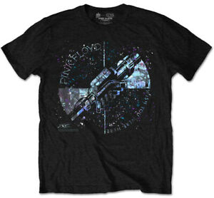 Pink Floyd 'Wish You Were Here Greeting Blue' (Black) T-Shirt - NEW & OFFICIAL!