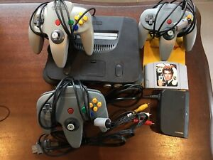 Genuine Nintendo 64 N64 Console Bundle (Includes Goldeneye 007 Game)