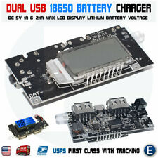 Dual USB 5V 1A 2.1A Mobile Power Bank 18650 Battery Charger PCB Module Board DIY