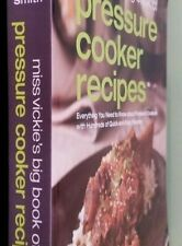 Cook Books pre owned excellent condition..Miss Vickies Big Book Pressure Cook.
