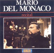 MARIO DEL MONACO Recital EU Press Starlite CDS 51028 1990 CD