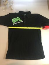American Apparel Quintana Roo Casual Triathlon Polo T Shirt Size Large L (5600-2