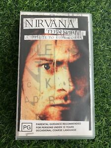 Nirvana  Lot 2 VHS Tapes Music Videos Good Condition *Not Tested* *L2