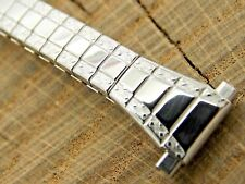 Speidel Ladies Watch Band Unused Stainless Steel NOS Vintage 9mm-13mm Expansion