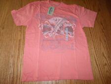 NWT Mens MARGARITAVILLE T-SHIRT DARK REEF ORANGE SHORT SLEEVE A SHORT BET M $32