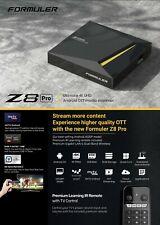 ✅FORMULER Z8 PRO 4K HDR WIFI 5G ANDROID 2GO 16GO QUAD CORE MYTVONLINE2 NEUF FRA