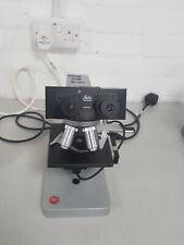 Leitz HM-LUX Microscopio + 3x Leitz los objetivos 10/0.25, 40/0.65, 100/1.25