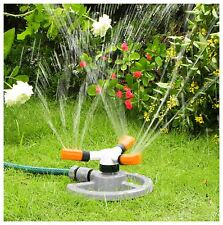 Fully Circle Rotating Sprinkler Hozelock Compatible Garden Pipe Hose Fitting