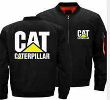 Men's Caterpillar Power skateboardprint flight Jacket print baseball Uniform