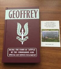 """Geoffrey"" - Apple of the Commandos & Special Air Service Regiment Book SAS WW2"