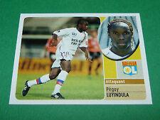 PEGUY LUYINDULA OLYMPIQUE LYON OL GERLAND PANINI FOOT 2003 FOOTBALL 2002-2003