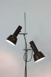 LAMPE STEHLAMPE FLURLAMPE DANISH 70er FLOOR LAMP 70s