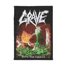 GRAVE Patch INTO THE GRAVE Aufnäher ♫ Swedish Death Metal ♫